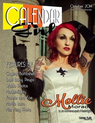 Calendar Girls - Issue One - October 2014 - Mollie Moradi Cover