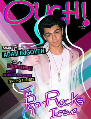 Vol.20 The Pop Rock Issue/Actor Adam Irigoyen