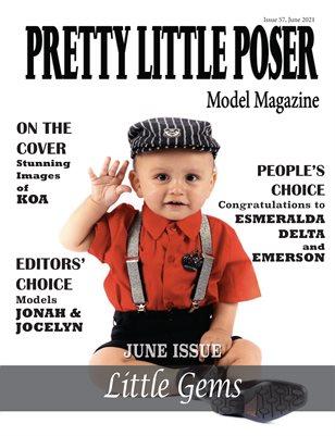Pretty Little Poser Model Magazine - Issue 57 - Little Gems - June 2021