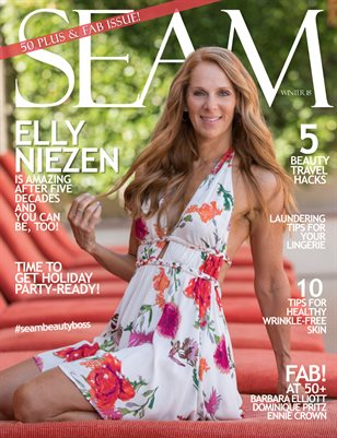 SEAM Magazine Issue #2 - Winter 2018 - Cover: Elly Niezen