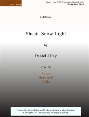 Shasta Snow Light