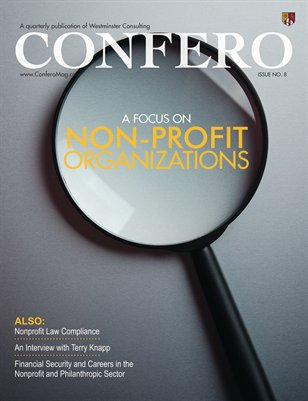 Confero Fall 2014: A Focus on Non-Profit Organizations