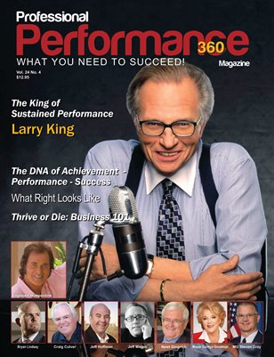 Larry King Edition - PERFORMANCE/P360 MAGAZINE - Vol 24 No.4