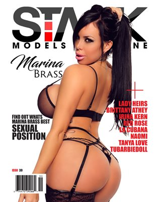 STACK Models Magazine Issue 39 Marina Brass Cover
