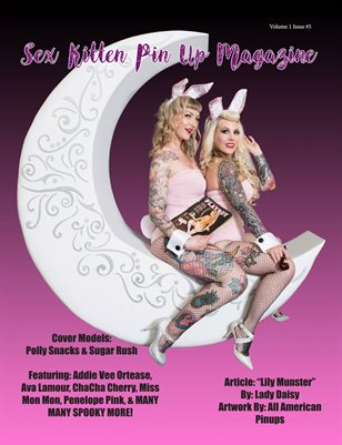 Sex Kitten Pin Up Magazine October 2018 issue