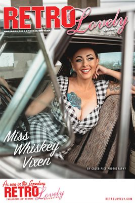 Miss Whiskey Vixen Cover Poster
