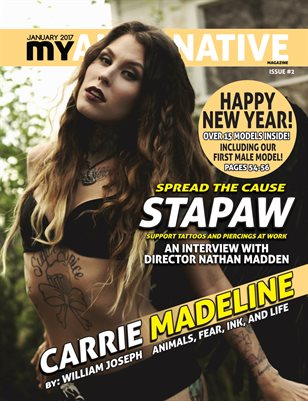 MyAlternative Magazine Issue 2 January 2017