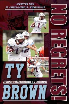 Ty Brown Winnebago Game Day Print