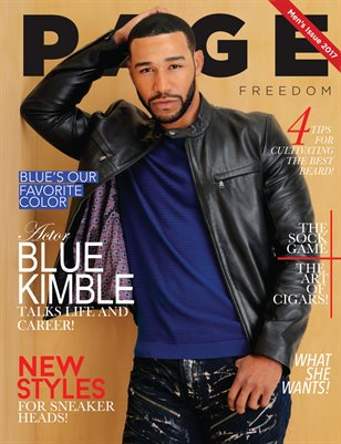 PAGE MAGAZINE MEN'S ISSUE 2017
