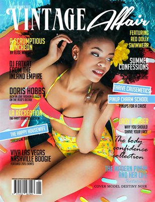 Vintage Affair Magazine | Summer 2015