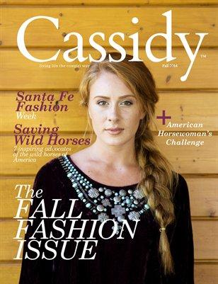 Cassidy Magazine Fall 2014