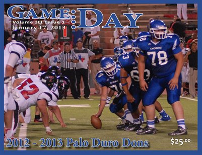 Volume 3 Issue 1 - 2012-2013 Palo Duro Dons