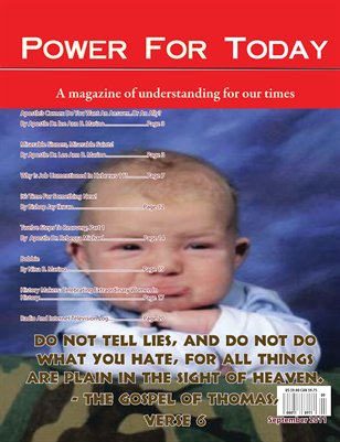 Power For Today Magazine, September 2011
