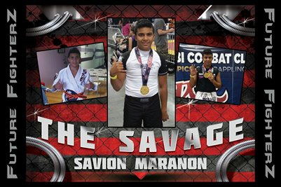 Savion Maranon 2015 Poster