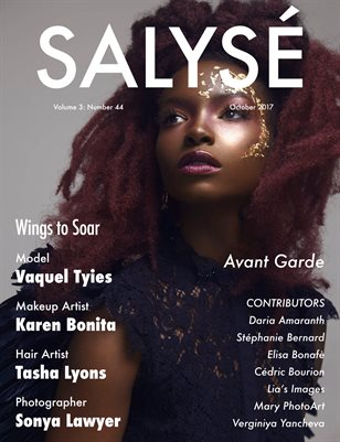 SALYSÉ Magazine | Vol 3:No 44 | October 2017 |