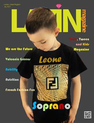Lazin Magazine - Kids Edition - July 2021 Soprano
