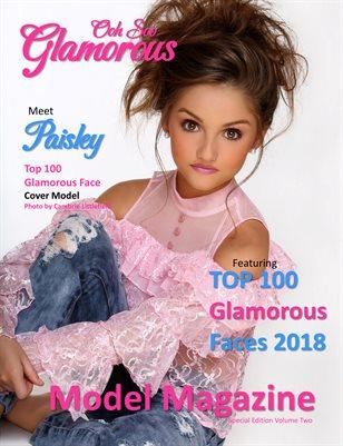Ooh Soo Glamorous Model Magazine Top 100 Glamorous Faces 2018