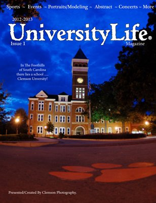 Universitylife Magazine - Clemson Photography