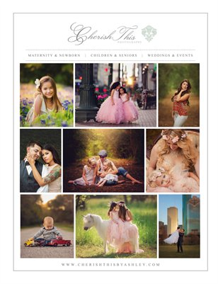 Cherish This Photography | Houston Photographer | Welcome Guide