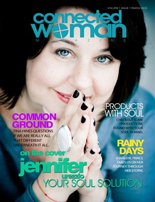 connected woman MAGAZINE Vol. 1 Issue 1
