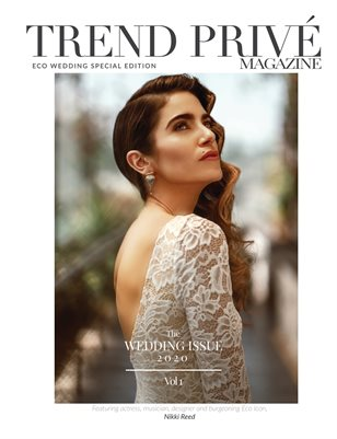 Eco Wedding Issue 2020 | Vol. 1 - Trend Privé Magazine