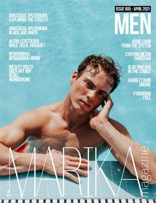 MARIKA MAGAZINE MEN (ISSUE 805 - APRIL)