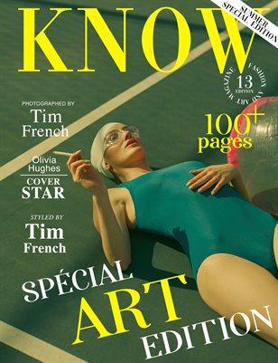 KNOW Magazine The Art Edition June 2021_Olivia