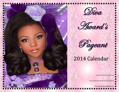 Diva Award's Pageant 2014 Calendar
