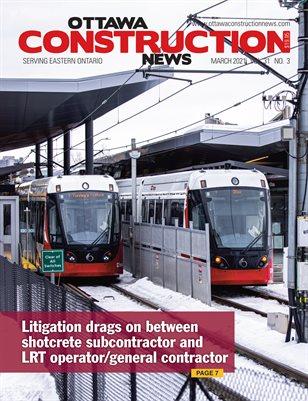 Ottawa Construction News (March 2021)