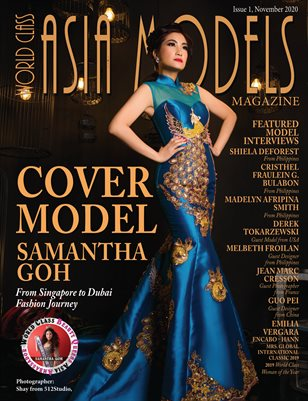 World Class Asia Models Magazine, Samantha Goh, Issue 1