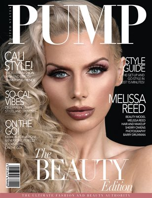 PUMP Magazine -  Beauty - January 2019 - V1