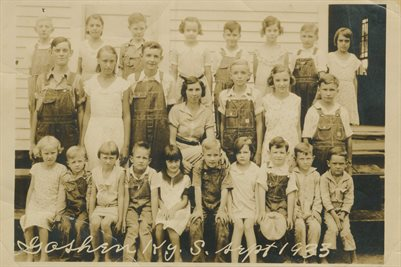 1933 GOSHEN KENTUCKY SCHOOL