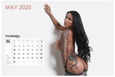 May 2020 Monthly Calendar - Serliana