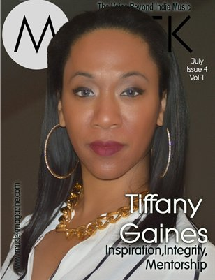 Musiek July Issue 2016: Tiffany Gaines!