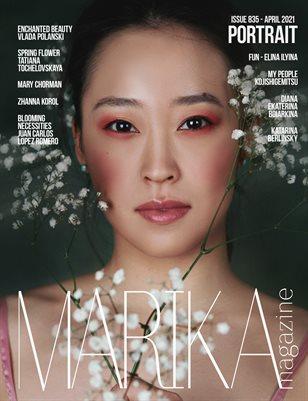 MARIKA MAGAZINE PORTRAIT (ISSUE 835- APRIL)