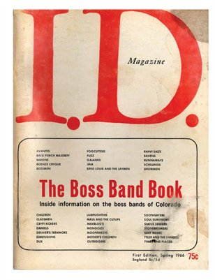 The Boss Band Book 1966