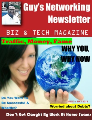 Guy's Networking Newsletter Biz and Tech Magazine May Issue