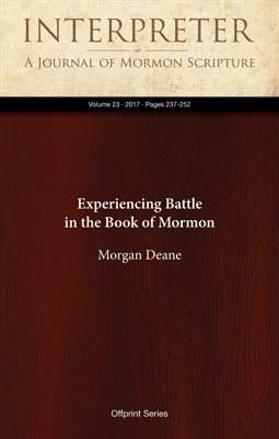 Experiencing Battle in the Book of Mormon