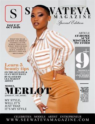 SEEWATEVA MAGAZINE ISSUE 17 CECE MERLOT