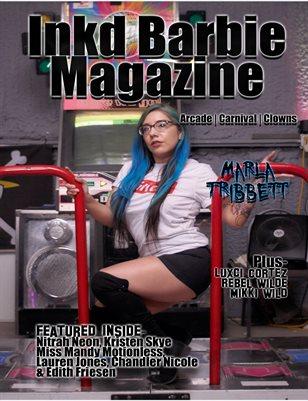 Inkd Barbie Magazine - Wicked Issue - Marla Tribbett
