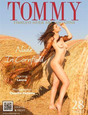 Lenne - Nude In Cornfield - Claudio Panatta