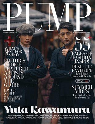 PUMP Magazine | The Ultimate Fashion & Beauty Issue | Vol.2 | May 2021