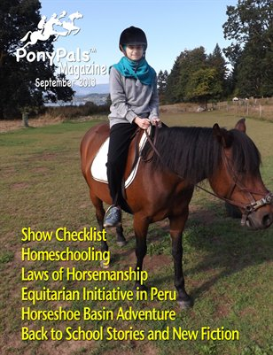 September 2013 -- Pony Pals Magazine -- Vol. 3 #4