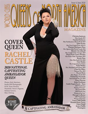 World Class Queens of North America Magazine, Issue 4 with Rachel Castle
