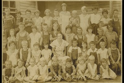 1933 Cold Water School, Calloway County, Kentucky