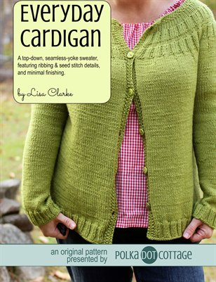 Everyday Cardigan Knitting Pattern
