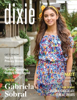 Dixie Magazine - September 2017 Vol. 2 Cover Model Ella Clark