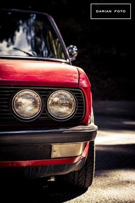 Zinnoberrot BMW E28 535i