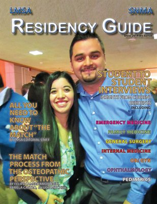 LMSA & SNMA Match and Residency Guide 2014