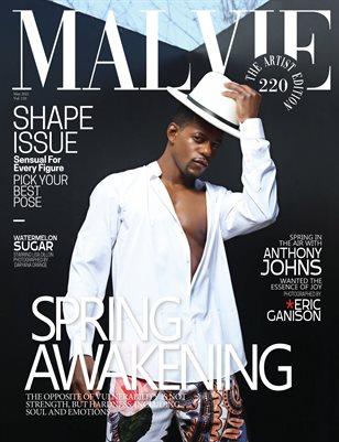 MALVIE Magazine The Artist Edition Vol 220 May 2021